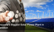 Venezuela's Biggest Solar Power Plant in Operation